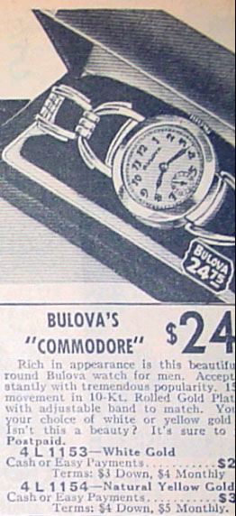 1935 Bulova Commodore