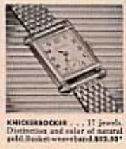 1945 Bulova Knickerbocker