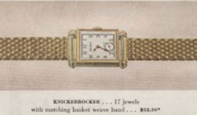 1946 Bulova Knickerbocker