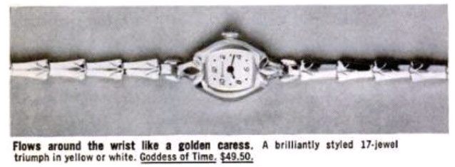 Bulova Goddess of Time.