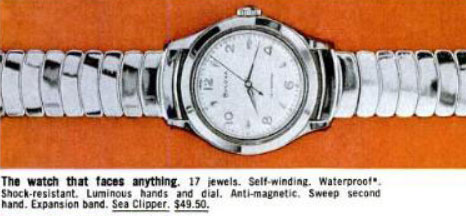 1959 Bulova Sea Clipper