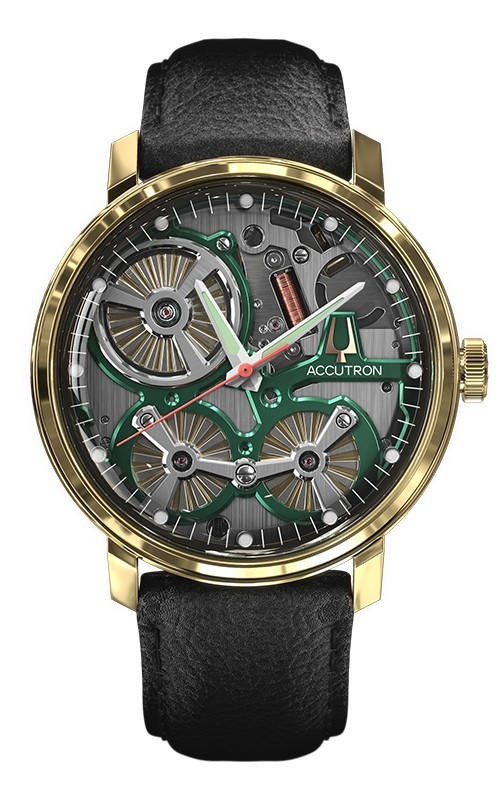 2020 Accutron Spaceview 18K Solid Gold Limited Edition