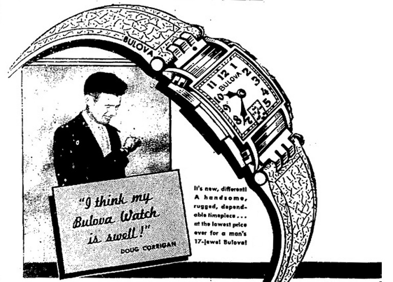 The Bulova Doug Corrigan Watch