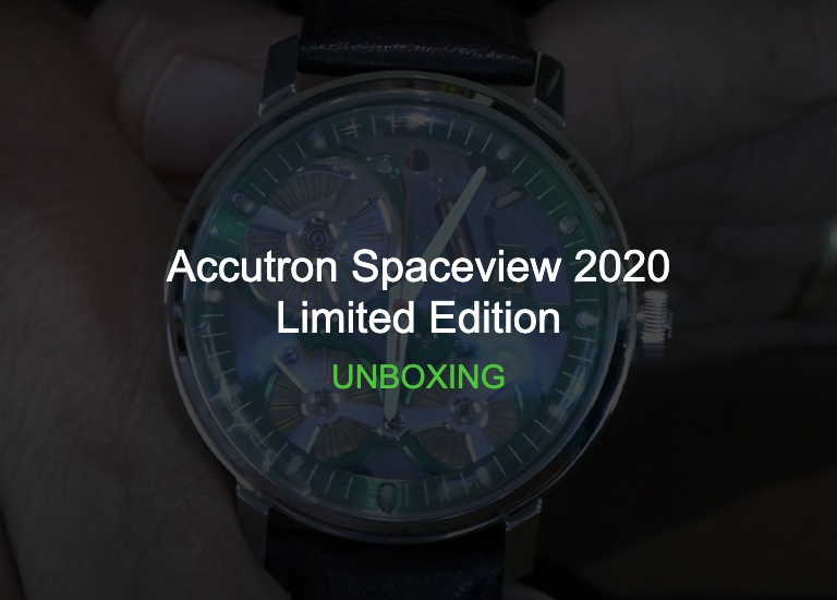 Accutron Spaceview 2020 Limited Edition Unboxing