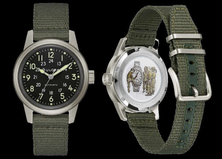 Veterans Watchmakers Initiative 3818-A military hack watch