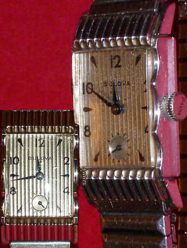 1949-1950 Bulova watch, maybe an Academy Award model