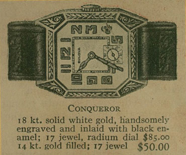 1926 Conqueror Ad - Image courtesy of James T. Robson
