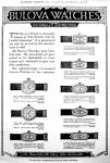 1925 Bulova Watch Advert