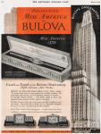 12 April 1930 Vintage Bulova Ad, Courtesy of Serge Henriot