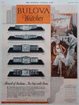 1930 Bulova Saturday Evening Post - Bernice, Miss America, Envoy, Gladiator, President watches