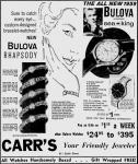 1960 Vintage Bulova Ad - The Portsmouth Times Dec 1 1960
