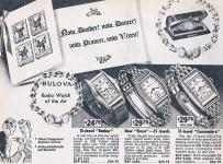 1941 Vintage Bulova Ad - Courtesy of Jerin from Falcon Watches