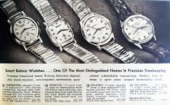 1960 Vintage Bulova Ad - Courtesy of Jerin Falcon