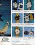 1961 Vintage Bulova Sea King Ad