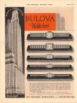 1930 Vintage Bulova Ad - Courtesy of Will Smith