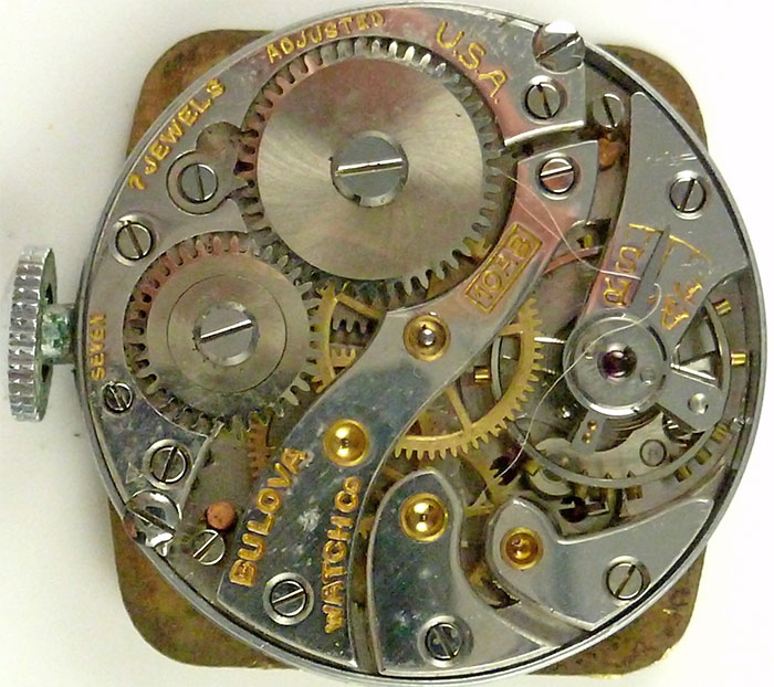10Ab Bulova movement