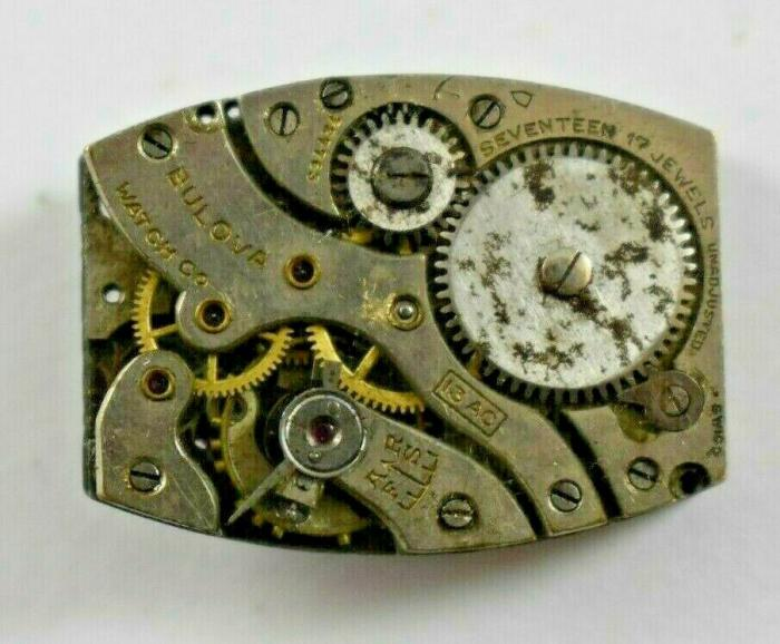 13AC Bulova movement