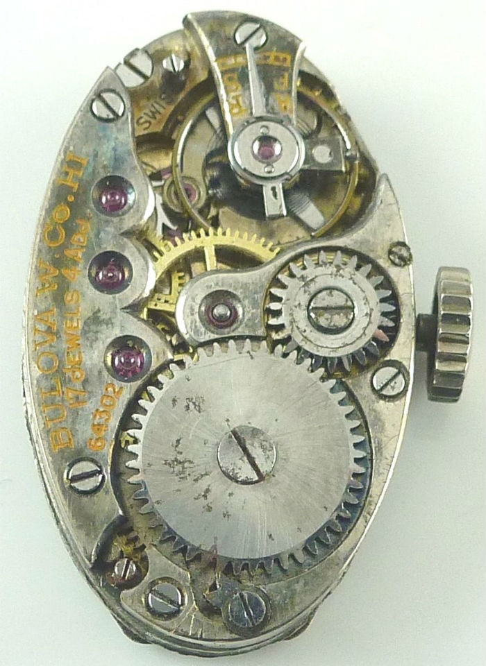 Bulova HI movement back