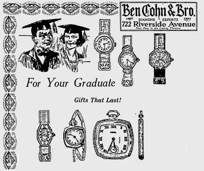 1923 Bulova watches