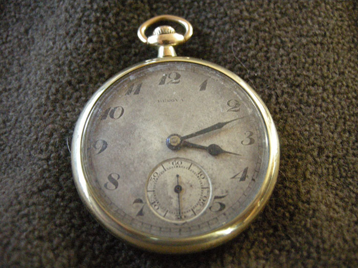 1923 Bulova pocket watch