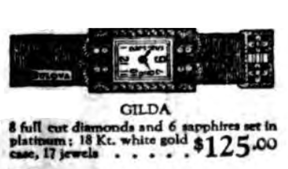 1924 Bulova Gilda watch