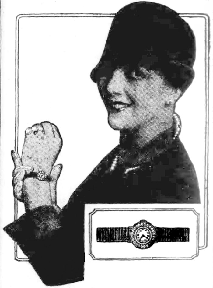 1926 Bulova Smallest watch in the world worn by Irene Bordoni