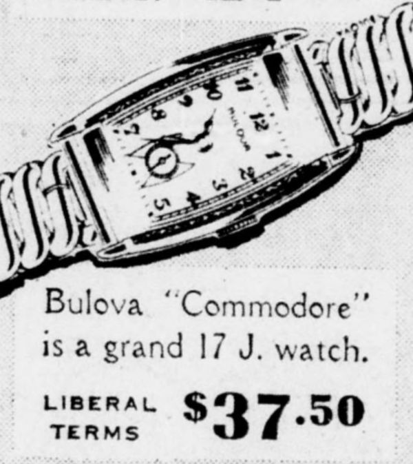 Bulova Commodore