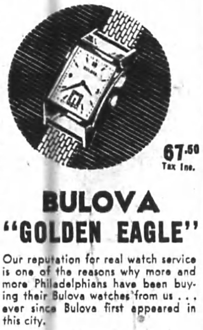 1946 Bulova Golden Eagle