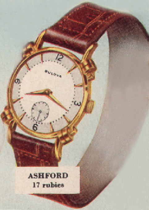 1948 Bulova Ashford watch