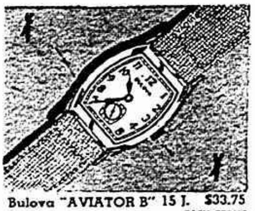 Bulova Aviator B watch