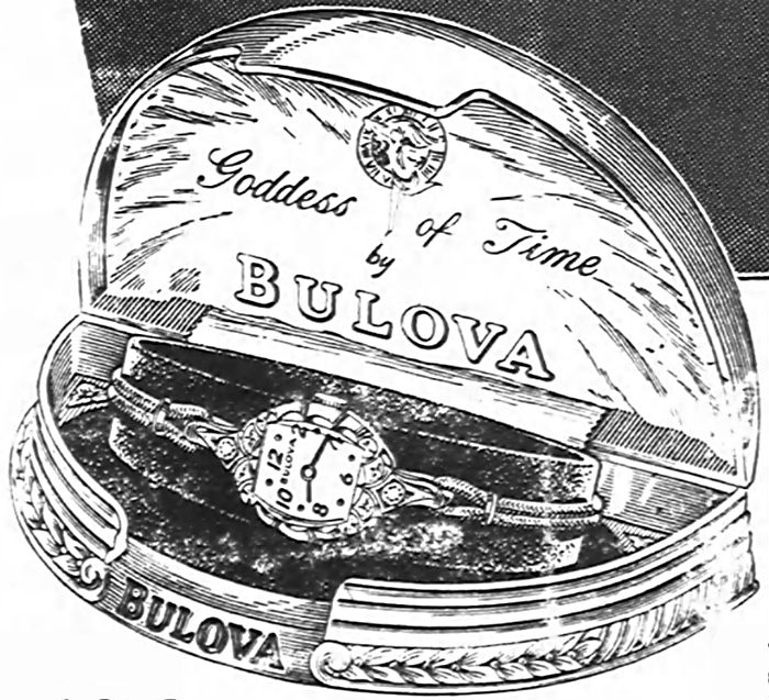 1954 Bulova Goddess of Time