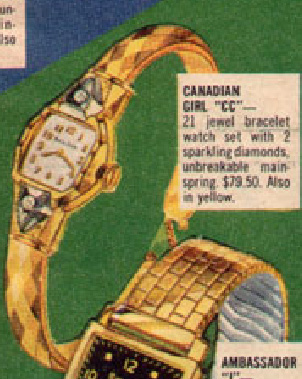 "Bulova Canadian Girl ""CC"""