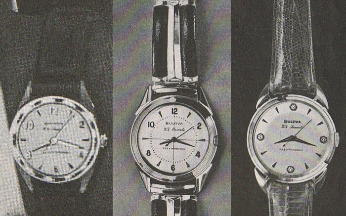 1958 Bulova 23 watches