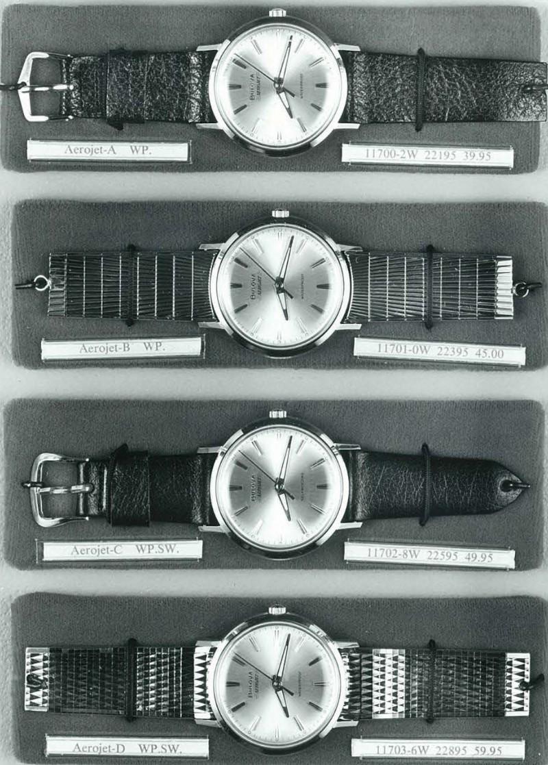 1967 Bulova Aerojet watches