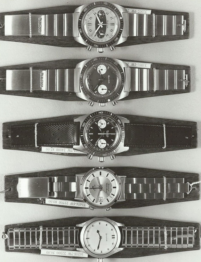Bulova 1970 watches