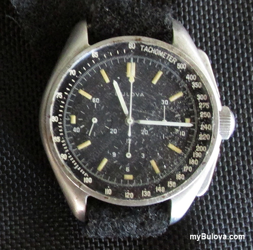 Dave Scott - Apollo 15 Bulova Chronograph wristwatch