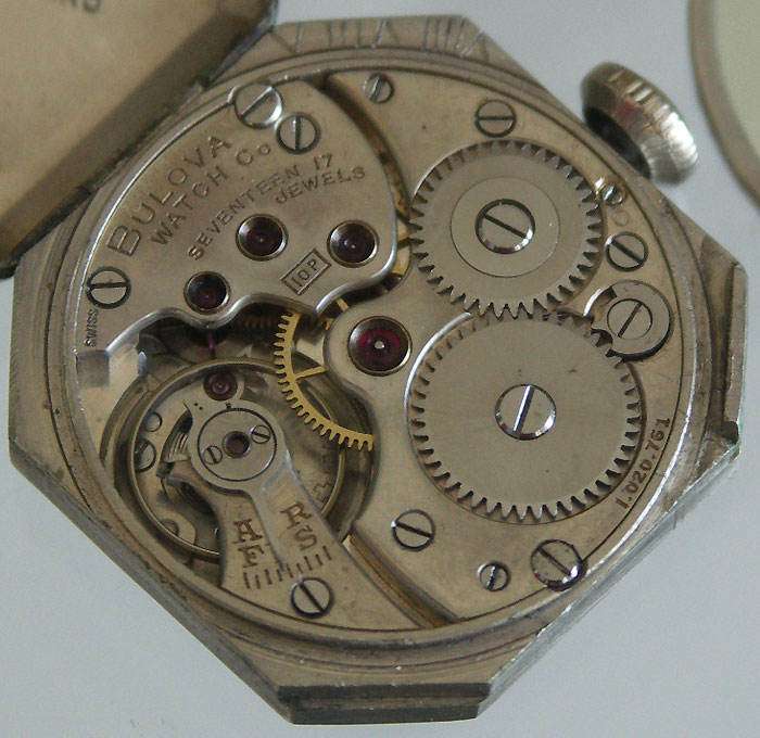 Bulova 10P watch movement