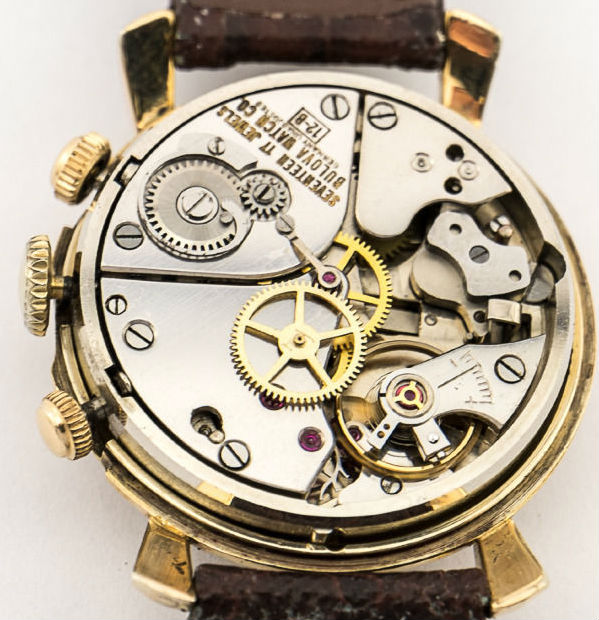 Bulova 12B Wrist Alarm watch movement