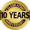 Celebrating 10 year of service