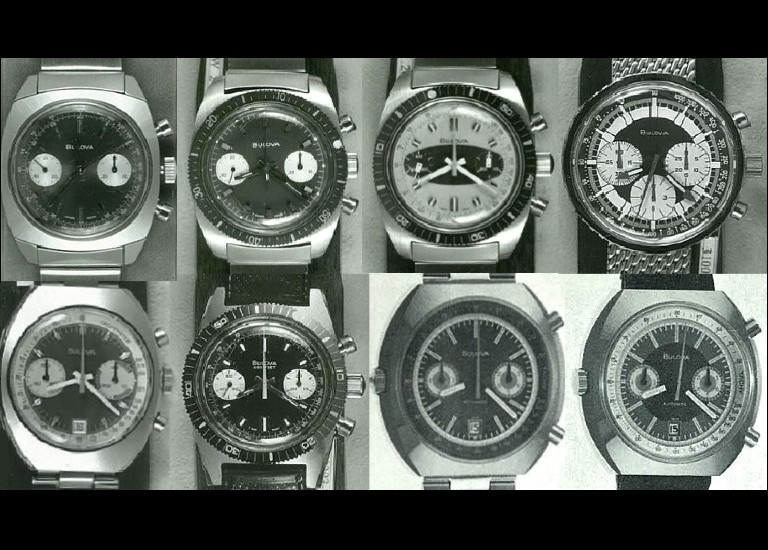 1970-1974 Bulova Chronograph Watch Series