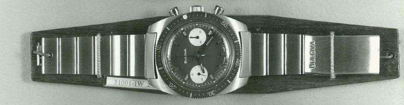 1970 Bulova Deep Sea Chronograph 31001-1W