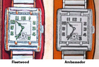 Bulova Fleetwood and Bulova Ambassador