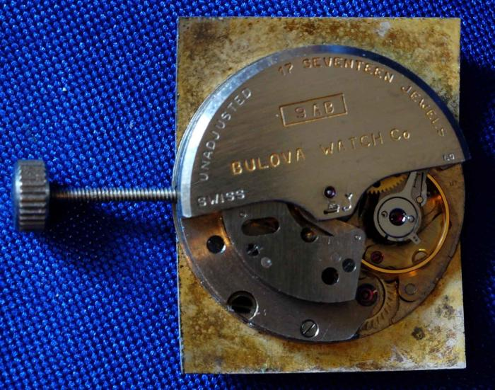Bulova 9AB movement