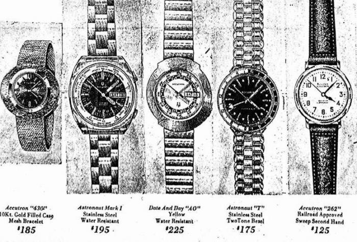 Accutron watches
