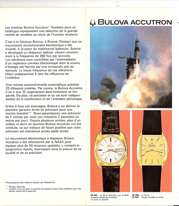 1963 Bulova Accutron Date and Day