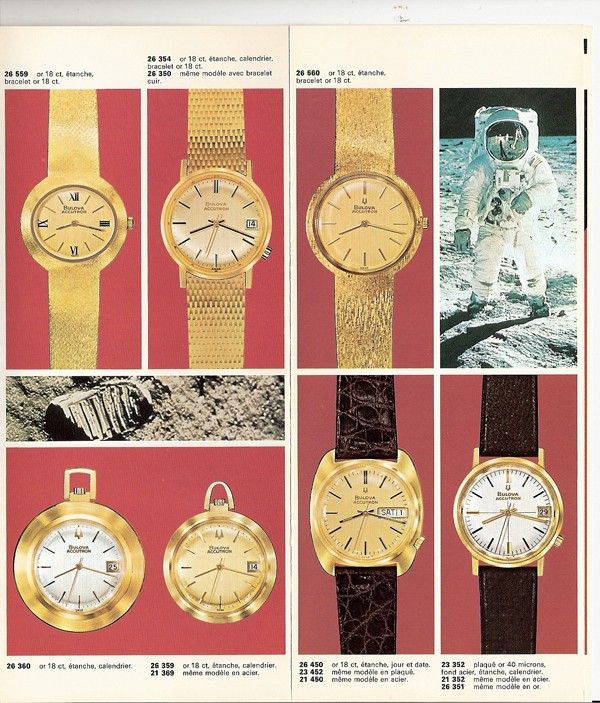 Bulova Accutron 18K solid gold