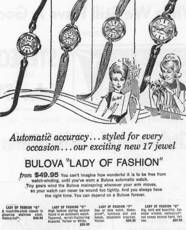 Bulova Lady of Fashion watches
