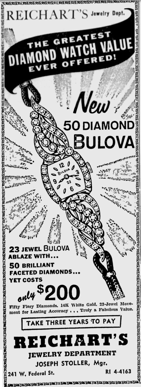 Bulova 50 Diamonds Watch