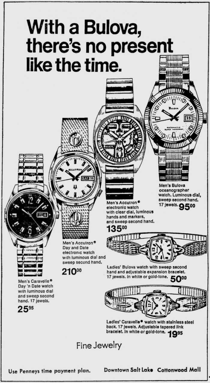 Buloiva watch advert
