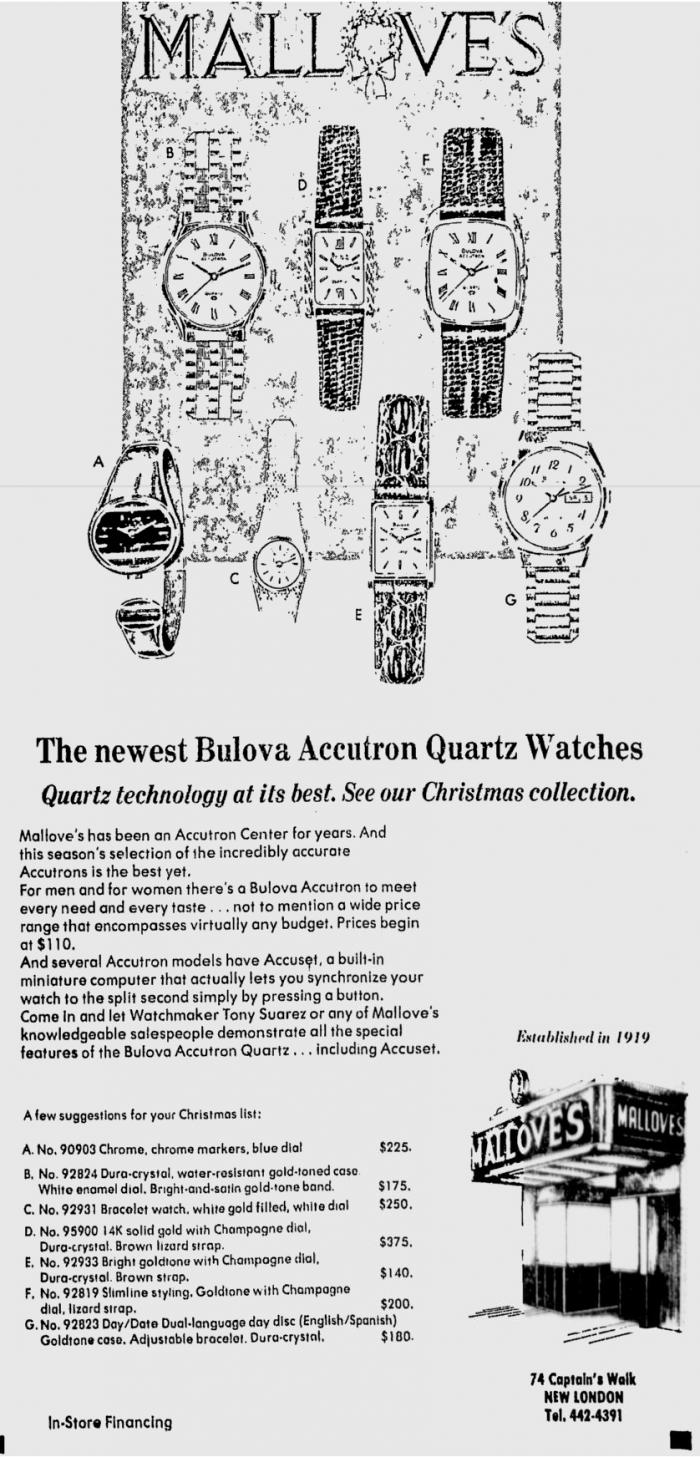 1978 Accutron Quartz